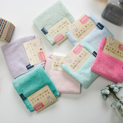 jo shopaokee方巾 30x30珊瑚絨吸水方巾 兒童毛巾 口水巾 (6折)