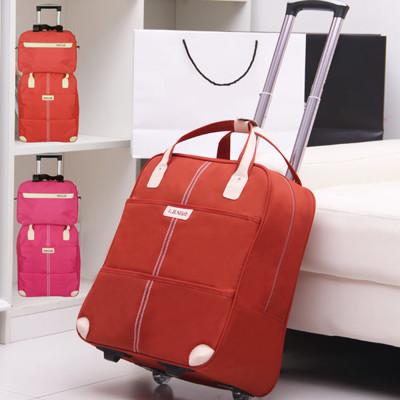 韓版優質大容量手提拉桿旅行包 輕巧行李箱 行李袋 (7.8折)