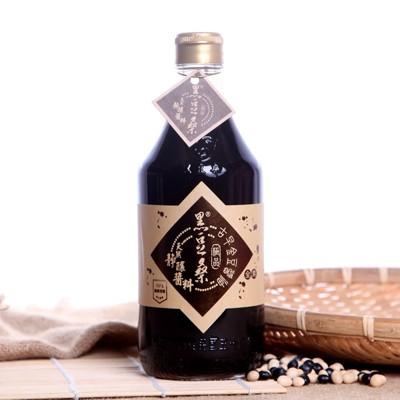 黑豆桑-天然極品古早金豆醬油 (8.3折)
