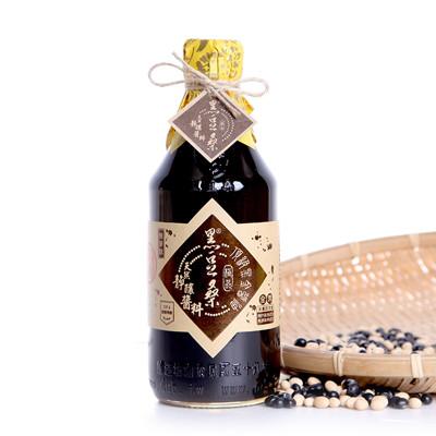 無麥麩非基改美味醬油【黑豆桑】天然極品頂級黑金醬油 (8.8折)